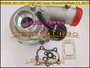 GT2052S 14411-7F411 722687 722687-5001S 722687-0001 Nissan Terrano II 2001 Pathfinder Için Turbo Şarj Cihazı 2001-05 TD27TI 2.7L 87KW