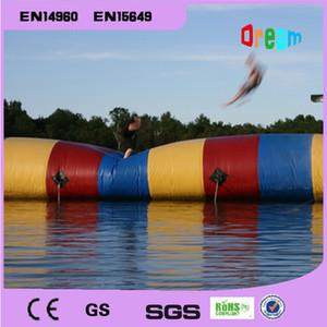 شحن مجاني 7x3 متر المياه نفخ لعبة نفخ المياه فقاعة أكوا blob القفز المياه المنجنيق blob للبيع