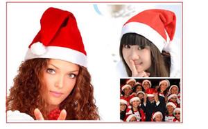 Christmas Hats Red adults Christmas Cosplay Hats New Year Decoration Christmas Decoration Cloth Hats Santa Clause Navidad Caps Festival