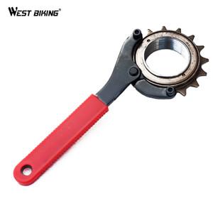 Herramienta de reparación de bicicleta de bicicletas Sproket Llave de soporte de cadena Ciclismo para herramienta removedor de ciclismo Cadena de cadena Whip
