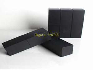 100 шт./лот пустой высокого класса пластиковые помады трубки ,черный outter квадратной формы внутренний DIY помады трубки,внутренний кубок диаметр 12 мм