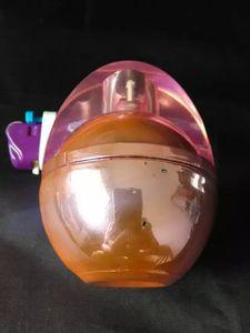 Ei Alkohol Lampe Glas Bongs Zubehör, einzigartige Ölbrenner Glas Rohre Wasserleitungen Glasrohr Öl Rigs Rauchen mit Pipette