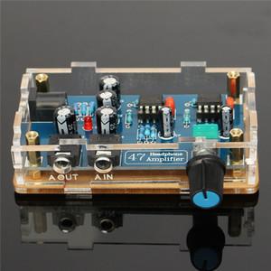 Freeshipping Single Power Supply Portable HIFI Amplificateur Casque PCB AMP DIY Kit pour DA47 Écouteurs Accessoires Pièces Électroniques