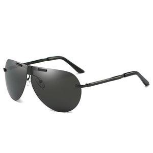 حار رجل المرأة أزياء القيادة المتضخم الاستقطاب 2021 نظارات الشمس نظارات الرجال للطي ماركة مصمم sunglass oknhm