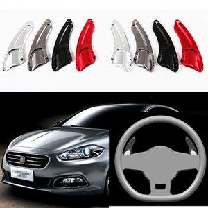 2 pcs Haute Qualité En Alliage D'aluminium Shifters Shift Paddles Extension Sporting En Alliage D'aluminium Pour Fiat Viaggio 2012-2016
