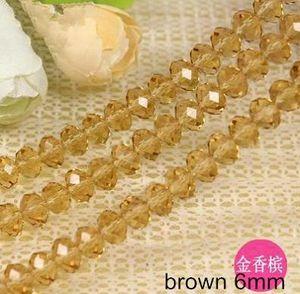 Bead joalharia cercadura pulseiras colares pingentes roda diy plana 5040 facetada cristal de vidro 6 * 4 milímetros atacado forma de joalharia encaixes 8 conjuntos