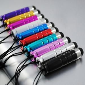 evrensel akıllı İçin 1500pcs / lot Şık Mini Kapasitif Stylus Dokunmatik Kalem İçin Kapasitif Ekran Telefon ve Tablet PC
