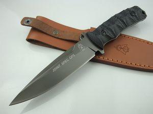 Tops- crane beak EDC Camping Hiking Tactical Combat Hunting fixed blade knives 1pcs free shipping