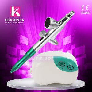 Portable Home Use Oxygen Machine Faciale Machine De Pelage Au Jet D'eau Pour La Nutrition Absorption Mini Taille DHL Livraison Gratuite
