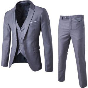 2018 New Fashion Designer Uomo Suit Smoking Dello Sposo Groomsmen Side Vent Slim Fit Best Man Suit Abiti da uomo Matrimonio Bridegroom Jacket + Pant + Vest