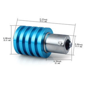 Tournez la lumière de frein de lumière LED 7W haute puissance BA15S P21W S25 7W Q5 Parking inverser le frein de queue
