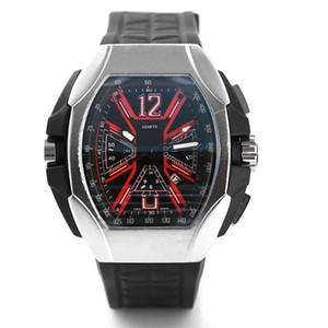 2019 Новый часовой бренд Череп спортивные часы для мужчин Повседневная мода Скелет кварцевые часы Бесплатная доставкаMontre Homme SPROT WATCH3