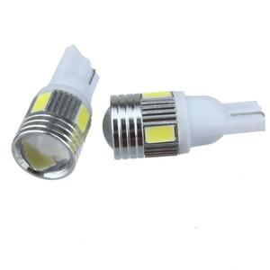 50x haute source lumineuse blanche lumineuse superbe lumineuse de voiture de puissance 168 194 ampoules de lampe de stationnement de 2825 W5W T10 LED avec la lentille de projecteur
