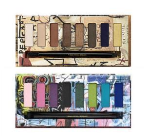2017 Jean Michel Basquiat Mieter Lidschatten Gold Griot Lidschatten-Palette Augen Foundation Make-up Metallic wasserdichte Palette geben Schiff frei