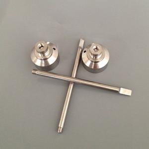 G2 Titanium Carb Cap Tool Domeless Titanium Nail 18mm Titanium Dab Tool with Carb Cap Dabber for Glass Bongs