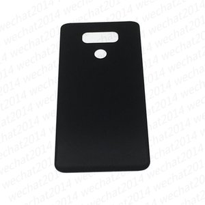 60PCS Back Battery Door Back Cover Housing Glass Replacement for LG G6 H870 H871 LS993 VS998 free DHL