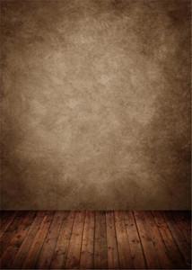 Weinlese-Brown-Wand-Fotografie-Hintergrund-dunkle hölzerne Beschaffenheits-Boden-Studio-Innenfotoaufnahme-Hintergründe scherzt Kinderfotografischen Hintergrund