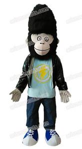 drôle film chanter caractère Gorilla Jimmy costume de mascotte costume de déguisement adulte costume de fête déguisement mascotte acheter mascottes en ligne mascotte fourrure