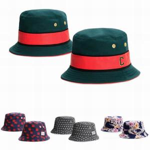 38 couleur Cayler Sons Bucket en cuir pêcheur Chapeaux Hommes Femmes d'été Cap CC Cheech République Chapeau du Kentucky Derby Église chapeaux de mariage pluie