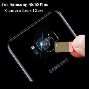 Pellicola protettiva in vetro temperato per fotocamera posteriore da 100x per Samsung Galaxy S8 / S8Plus Pellicola protettiva in fibra flessibile morbida 8H