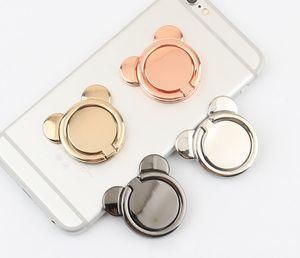 Soporte universal para teléfono de metal con soporte para anillo de dedo de 360 grados para iPhone 7 6s Samsung Huawei teléfonos móviles