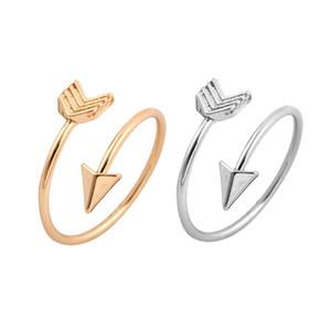 FINE ARROW RING em Prata, Ouro ou Rosa Dourada. Thumb / Wrap AJUSTÁVEL Amor para namorada mon presente frete grátis