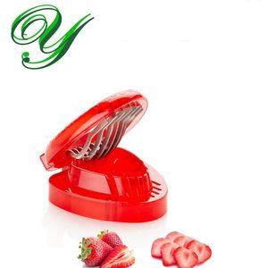 الفراولة القطاعة قسم الطماطم القاطع المقاوم للصدأ سكين باليد الفاكهة الخضار أدوات أطفال مطبخ أداة الإبداعية هدية سلطة صانع