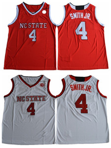 2017 nuovo stato NC Wolfpack Dennis Smith Jr. College Basket Blay Jersey a buon mercato Dennis Smith Jr. Camicie Cucitate Pallacanestro Jersey Mens