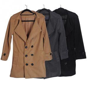 Favolook أزياء العلامة التجارية خندق معطف الرجال أزرار مزدوجة sobretudo masculino يتأهل طويل خندق معطف للرجال الخريف معطف
