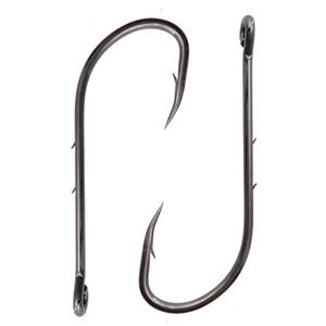 92247 высокоуглеродистая сталь рыболовные крючки черный смещение длинный колючий хвостовик Baitholder приманки крюк размер 1-6 / 0