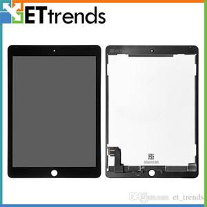 Original oem tela de lcd para o ipad ar 2 tela de toque digitador assembléia completa dhl frete grátis