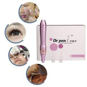 Dr. Pen Derma Stylo ULTIMA M7-W Système automatique de microaiguilles Longueurs d'aiguille réglables 0.25mm-3.0mm Derma Électrique Dr.Pen