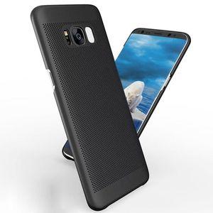 Para sansung s8 s8plus s7 s6 ultra-fino respirável matte casca dura caso de telefone celular
