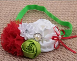 Hair Accessories New High Quality Handmade Children Hair Accessories Baby Rose Buds Sequined Bow Headband YH609