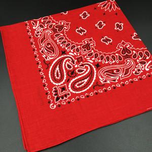 100% de algodón del pañuelo de la bufanda de cabeza cuadrada de la bufanda de las mujeres de los hombres de moda de la bicicleta de la motocicleta del pañuelo Mujer Pañuelos Sombreros Bufandas Hijab