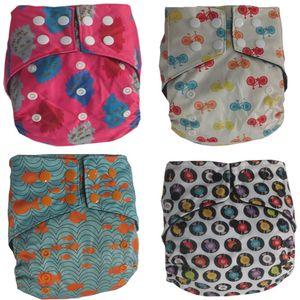 Naughtybaby pannolini pannolini in tessuto taglia unica impermeabile traspirante PUL pannolini riutilizzabili copertine pantaloni per bambino in forma 3-13 kg babys