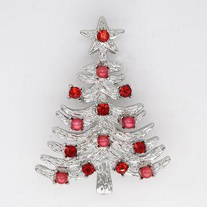 الجملة حجر الراين دبوس دبابيس شجرة عيد الميلاد بروش C101241