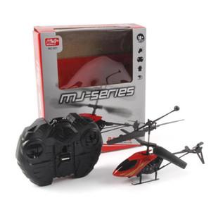 Yeni Sürüm Mini RC Helikopter 3.7 V Radyo Uzaktan Kumanda Uçak 3D 2.5 Kanal Drone Helikopter Gyro ve Işıkları ile