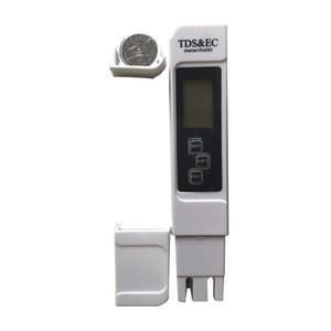 TDS Meter EC Meter Thermometer 3-in-1 Tragbare Digitalwasserqualität Reinheits-Testerleitfähigkeitszähler TDS-Tester TDS-Monitor