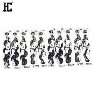 HC Cheveux Produits Brésiliens / Péruviens / Malaisiens / Indiens Cheveux Raides Vague de Corps Vague Profonde Bouclés Bouclés Vague Brésiliens Extensions de Cheveux Humains