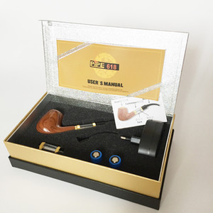 الإلكترونية سلسلة مربع سيجارة أنابيب التدخين القديم من الطراز التدخين الأنابيب الأنابيب الإلكترونية هدية مجموعة كاتب كيت 618 الإلكترونية FSCTF