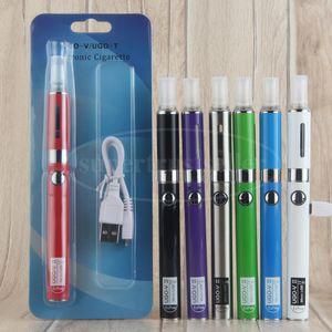 eVod MT3 Atomizer eGo Vape Pen Starter Kit مع 650 900 ماه UGO V ii USB Battery Pass رغم PK eVod CE5