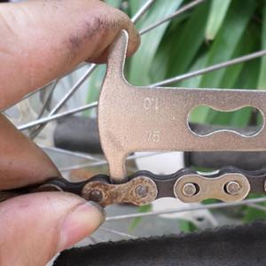 1 stück Fahrrad Fahrrad Kette Checker Wear Indicator Messen Werkzeug Manometer Reparatur checker Fahrrad Zubehör kostenloser versand