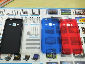Pudding-Abdeckungen TPU Telefon-Kasten für iPhone 8 Huawei Y7 Prime Y7 Honor 9 LG Q6 V30 Samsung Galaxy A3 2017 A320 A5 2017 A520 A7 2017