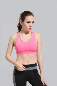 2017 Pembe Bayanlar Yoga Sutyen Moda Hızlı Kuru Spor Womens Tops Spor yoga spor sutyeni Spor Giysi Ücretsiz Drop Shipping gally
