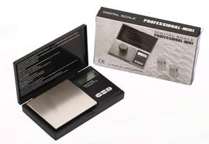 200g / 0.01g 500g / 0.1g 1000g / 0.1g Básculas de precisión digital para la Escala de joyería de oro y diamantes, Balanza electrónica electrónica de Pocket Balance