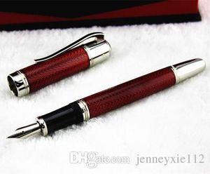 Высокое качество MB черный / синий / красный Fountain Pen Free Бархатный мешочек для лучших поставок подарок офис школы