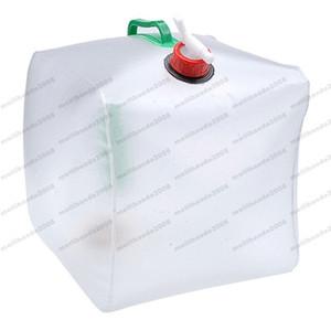 Tragbarer faltender Wasserbeutel 20L Waterskin-Eimer im Freien für das kampierende Wandern von MYY