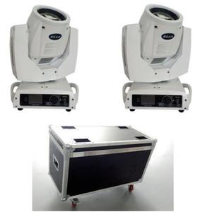 2pcs Sharpy Beam 230W Stage Beam 7R Moving Head Light con Flight Case + 2PCS Cavo DMX 5M