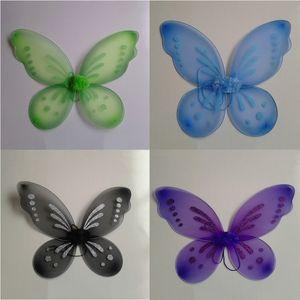 Süßer Junge Kleinkind Baby Kind Mädchen Engel Fee Schmetterlingsflügel verkleiden Kostüm für Party